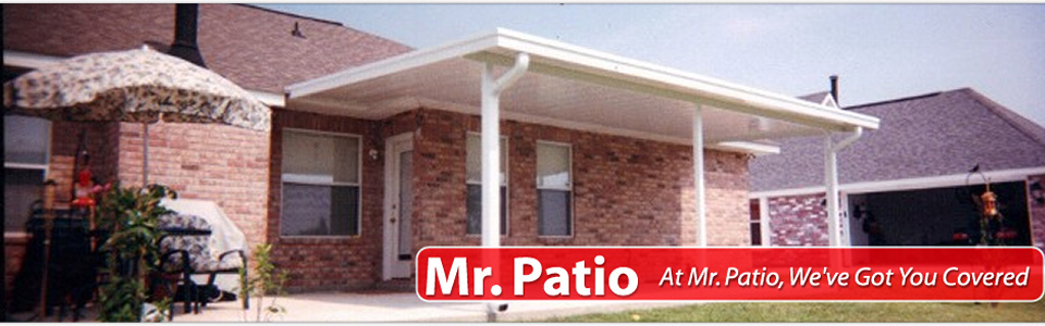 Mr Patio, Patio Covers, Carports, Screen And Glassrooms | New Orleans, LA
